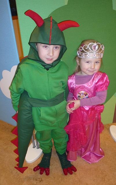 Dragen og prinsessen